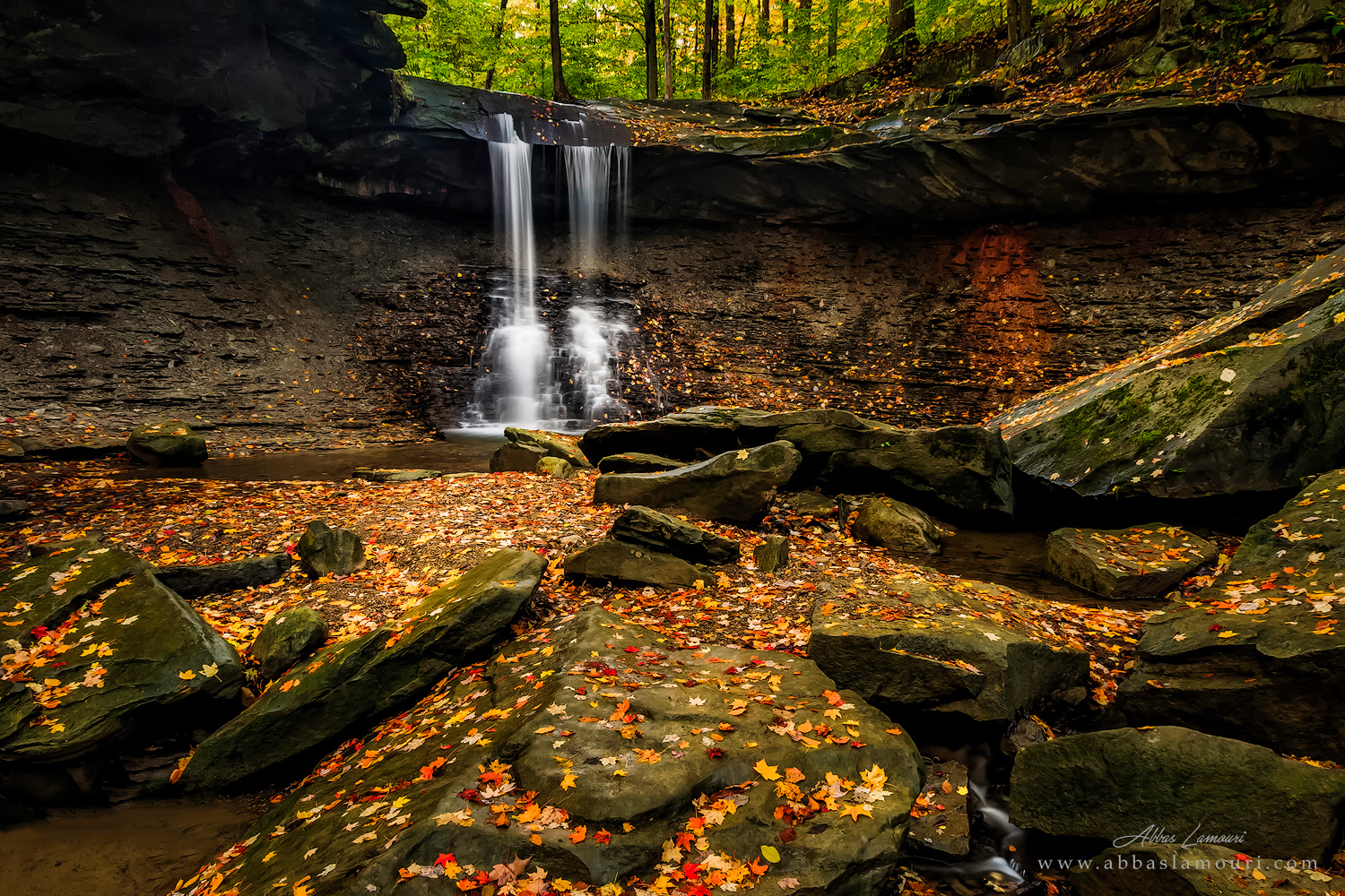 Blue Hen Falls - Cuyahoga Valley National Park, Ohio