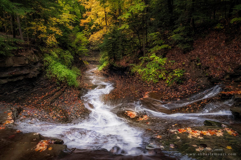 Bridal Veil Falls -  Bedford Reservation - Walton Hills, Ohio