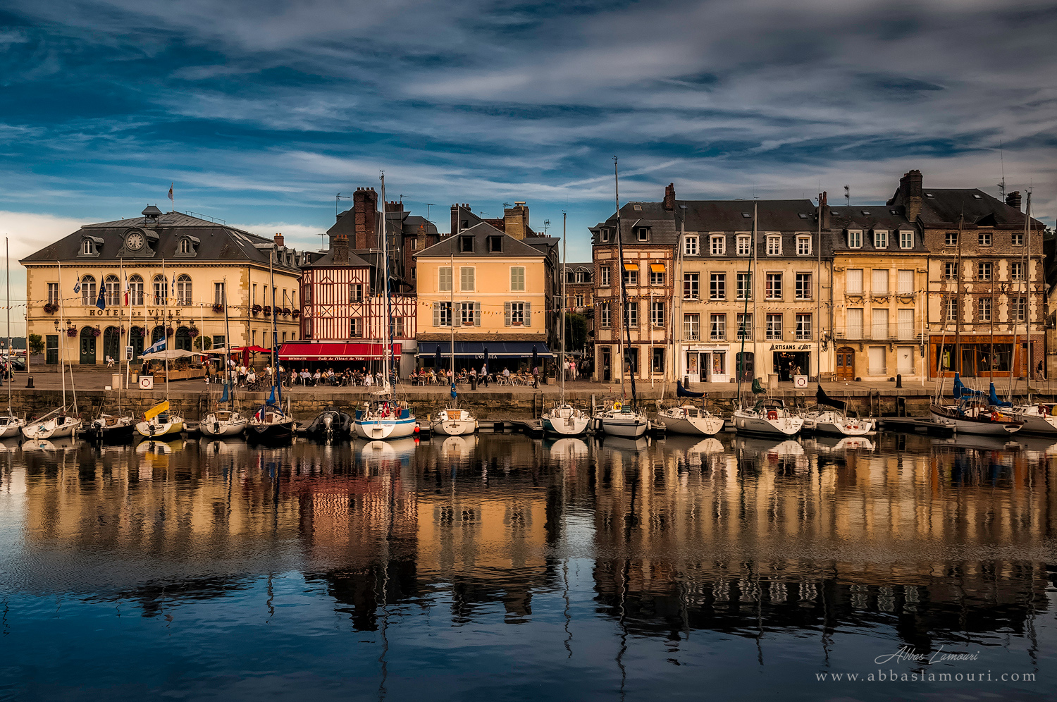 Honfleur Harbour - Normandy, France