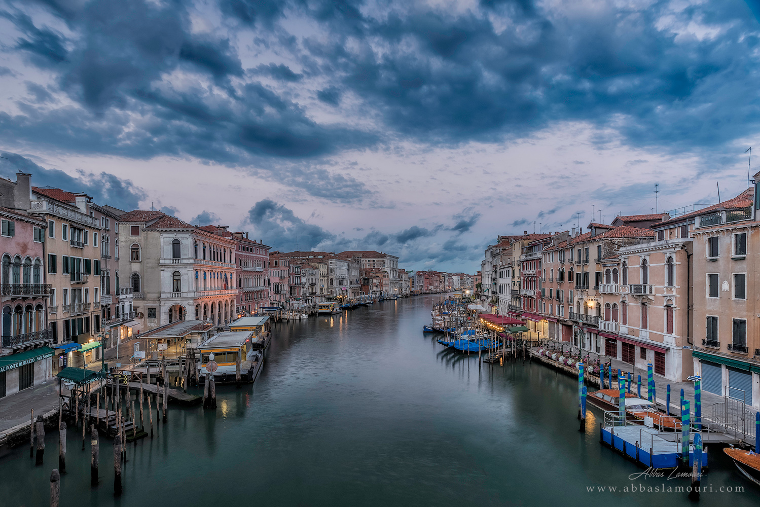 A view from Ponte di Rialto - Venice, Italy