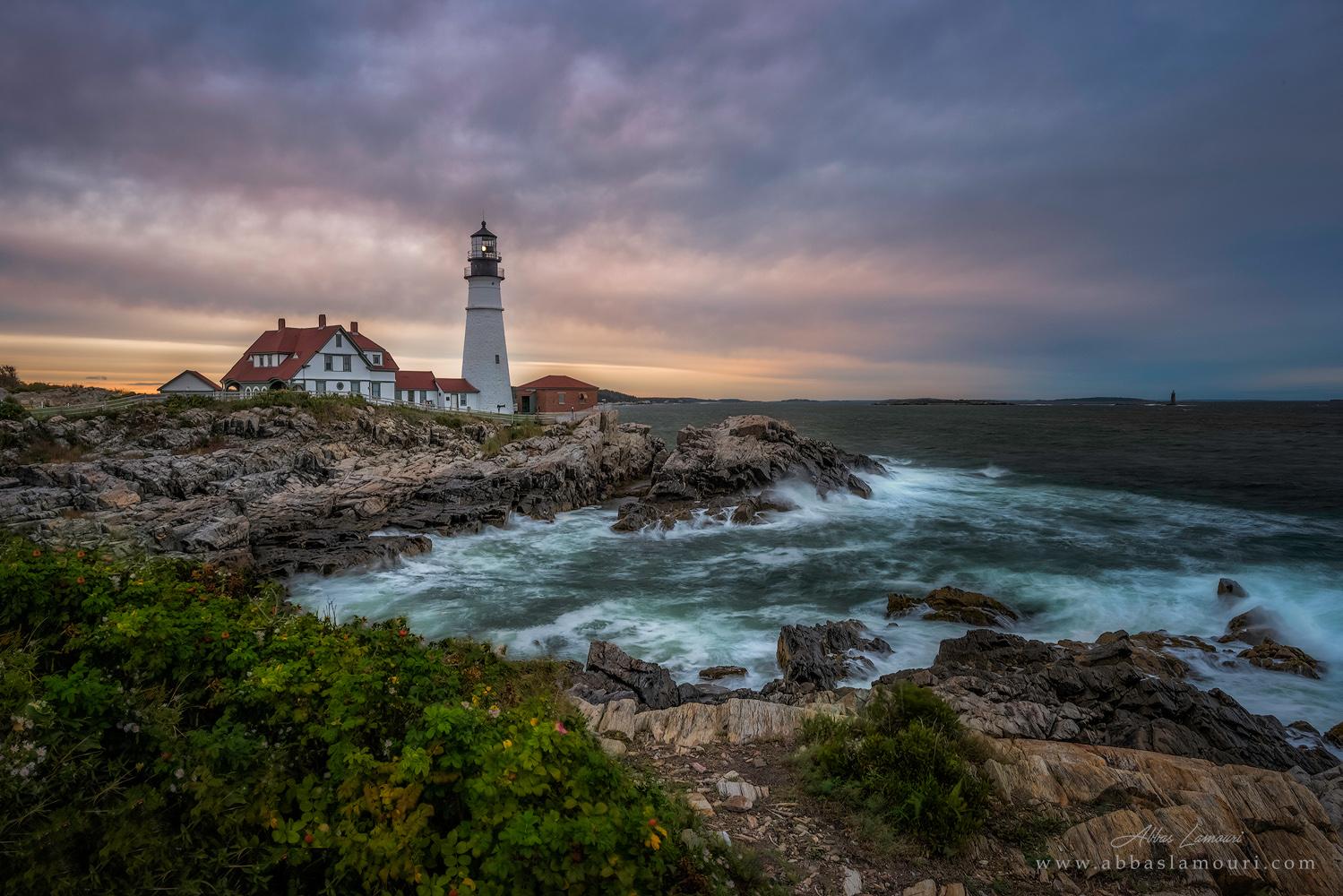 Portland Head Light , Maine