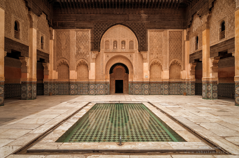 Ben Youssef Madrasa - Marrakesh, Morocco