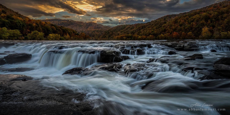 Sandstone Falls - New River Gorge, West Virginia