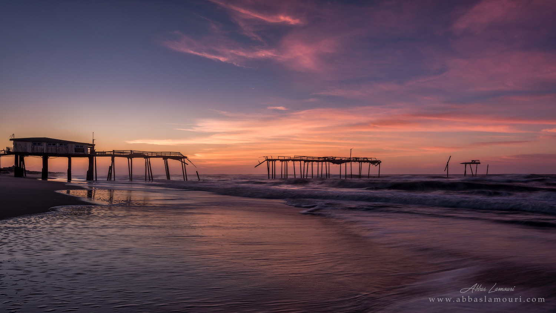 Frisco Pier - Cape Hatteras National Seashore, North Carolina