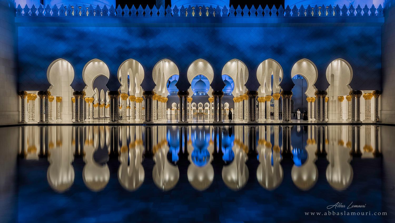 Sheikh Zayed Grand Mosque - Abu Dahbi, UAE