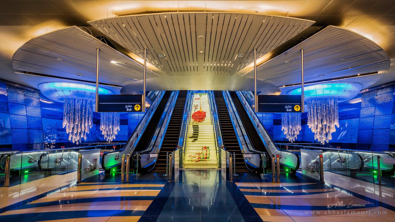 Dubai Metro Station - Dubai, UAE